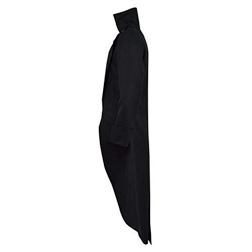 Vittoriano Vintage Tuxedo Uomo Da Tailcoat Steampunk Coat Cappottino Gothic Cappotto Schwarz Cosplay Halloween Vampire Giacca Huixin xwq18aWPvn