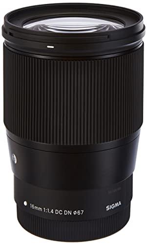 Sigma 16 mm/F 1.4 DC DN - Objetivo para Montura Canon EOS M