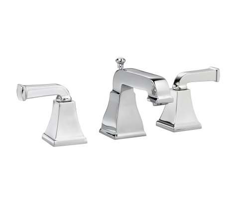 American Standard Metal Pop Up Faucet - American Standard 2555.821.002 Town Square Widespread Lavatory Faucet, Polished Chrome