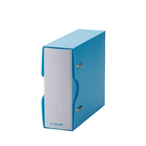 ELECOM Non-Woven Fabric Media File and Clear case, CD DVD Blue-Ray, 36 disks Blue CCD-BC02BU