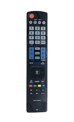 VINABTY New AKB73756542 Replace Remote fits for LG Smart TV 32LN570B 32LN5750 39LN5700 42LN5700 47LN5600 47LN5700 47LN5710 50LN5700 55LN5600UI 55LN5700 60LN5600UB 60LN5700 60LN5710 AGF76692608
