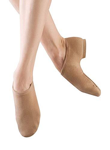 Bloch Women's Phantom Jazz Shoe, Tan, 8.5 M US