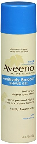AVEENO Positively Smooth Shave Gel 7 oz (9 Pack) by Pharmapacks