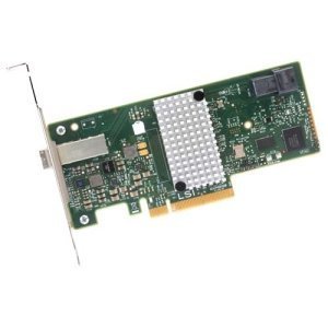 LSI Logic LSI00348 9300-4i4e Single SAS 4Port 12Gb/s PCI Express HBA Controller Card