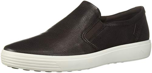- ECCO Men's Soft 7 Casual Loafer Sneaker, Mocha, 46 M EU (12-12.5 US)