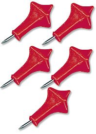 Red Incensed Paschal Nail Set - Christian Brands Church Supply Pack of 5
