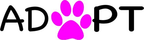 Pet Adoption Rescue - WickedGoodz Vinyl Pink Paw Pet Adoption Decal - Rescue Bumper Sticker - Perfect Dog Cat Owner Gift Gift