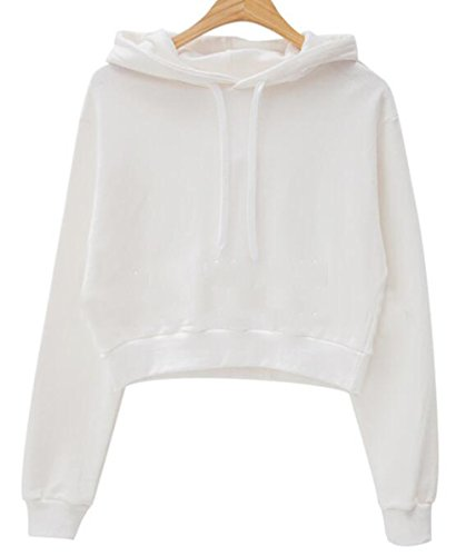 crop hooded sweatshirt - 4