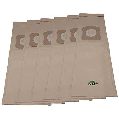 Zvac Replacement Kirby Vacuum Bags Compatible With Kirby Part # 04803, 205803, 197294, 197294S Fits Using Style G Vacuum Bags - 6 Pack In A Bag
