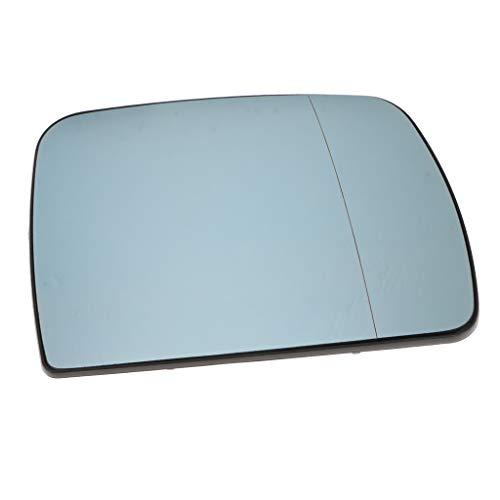 non-brand Baoblaze Reemplazo del Vidrio del Espejo del ala De La Puerta Derecha para BMW X5 E53 99-06