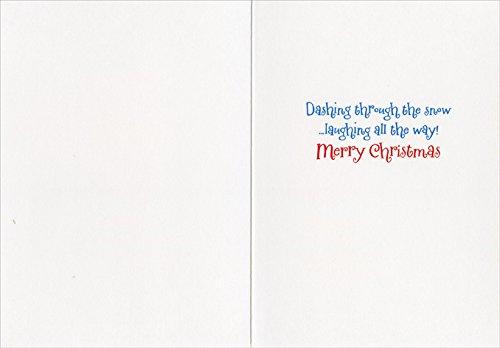 Golden Retrievers In Snow - Dog Box of 10 Avanti Funny Christmas Cards Photo #2