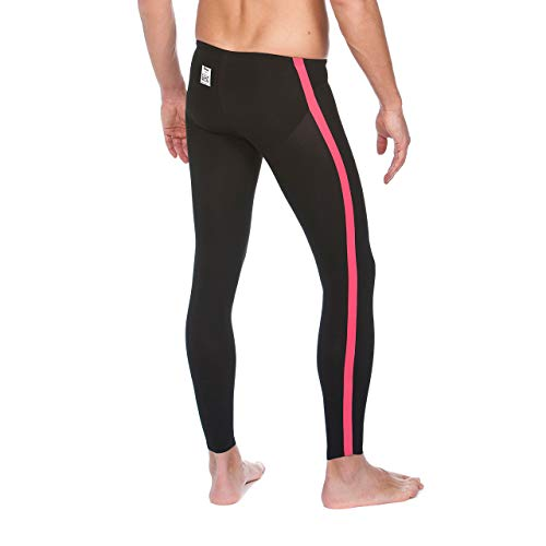 Arena Powerskin R-Evo Open Water Pant, Black/Fluo Yellow, 26 by Arena (Image #4)