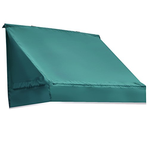 Tangkula Window Awning Outdoor Patio Door Canopy Decorator Sun Rain Shelter (2x6 ft, Green) by TANGKULA