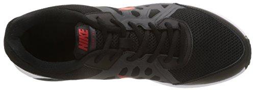 Nike Mens Dart 11 Scarpa Da Corsa Nero / Unvrsty Rd / Anthrct / Bianco