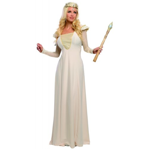 [Rubie's Costume Disney's Oz The Great and Powerful Adult Deluxe Glinda Dress and Headpiece, Multi,] (Adult Glinda Costumes)