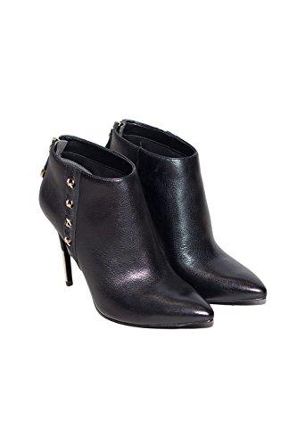 Boot Punta Fl4onalea09 Tronchetto Lona Scarpe Mod A Ankle Col Donna Guess Nero Leather Zzx1EvqU