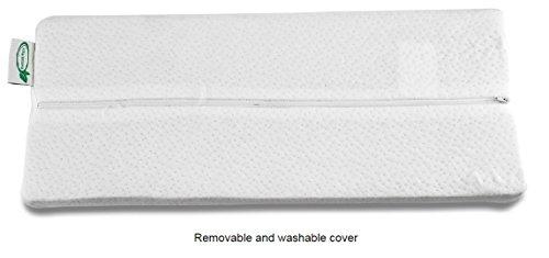 Extra Firm Half Moon Bolster Support Memory Foam Pillow