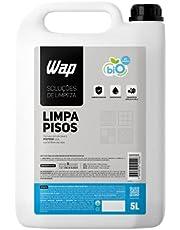 Limpador de Porcelanatos Pisos e Superfícies WAP LIMPA PISOS 5 LITROS, Branco e azul