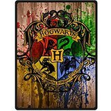 Custom Classic Movies Harry Potter Bed/Sofa Soft Throw Fleece Blanket 58 inch