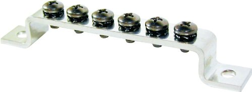 Blue Sea Systems 6 Gang Common 100A Mini Grounding Busbar Ground Buss Bar