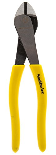 Southwire Tools & Equipment DCPA8D 8-Inch Angled Head High-Leverage Diagonal Cutting Pliers with Dipped Handles