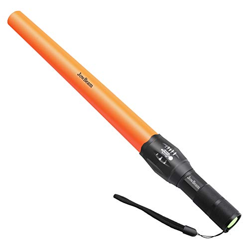 - Safety Traffic Wand Baton Light LED Flashlight Power by 3 X AAA Battery(Not Included) (1)