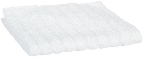 glo Organic Stripe (White)-Wash Cloth-4-piece set