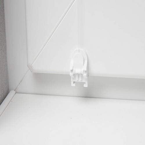 /Tenda a Rullo Bianco 90/x 150/cm Senza Viti Oscurante avvolgibile Lato Treno Morsetto Rollo Blackout Rivestimento Argento Beyond Drape Termica/