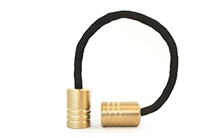 Begleri Beads - Brass Round - Hand Machined Edc Greek Worry Fidget Beads - Made In The Usa