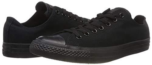 Sneaker 5 5 Converse B Women nero m 7 Donna Size Men Us 7 5 Nero D 5 m vxdqxp