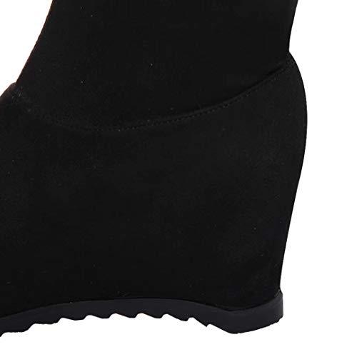 Black Boot Boot Classic AIYOUMEI Classic Women's AIYOUMEI Boot Black Classic AIYOUMEI Women's Women's wRIWHq