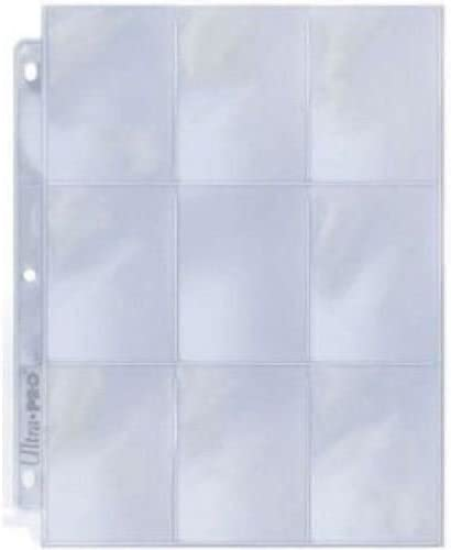 10 x 9 POCKET A4 STORAGE SLEEVES FOR POKEMON TRADING CARDS ACID FREE