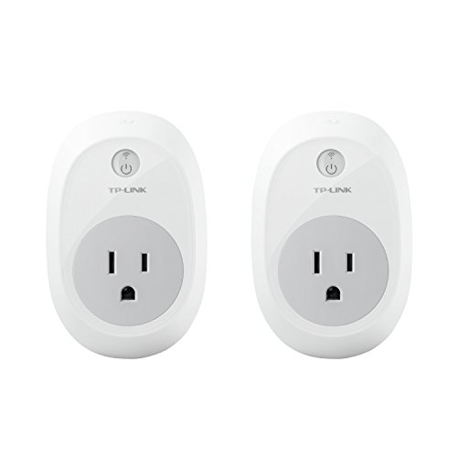 TP-LINK Smart Plug, Wi-Fi, Control your Devices from Anywhere (HS100), Works with Amazon Alexa