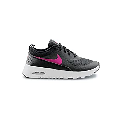 nike air max thea synthetic grey\/pink\/white pill kids may have