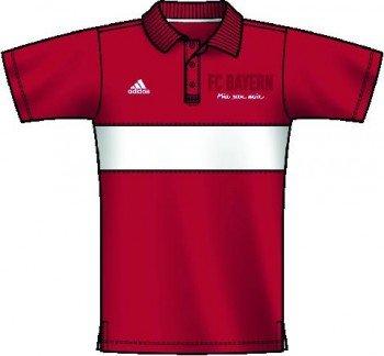 adidas FC Bayern Urban Polo Rojo, Rojo: Amazon.es: Deportes y aire ...