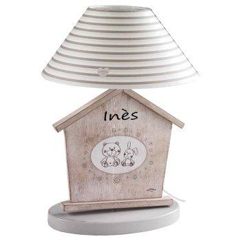 Lampe De Chevet Chambre D Enfant Personnalisable Amazon Fr Bebes