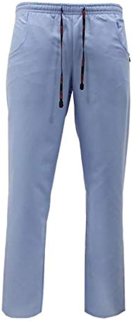 Varias Tallas y Colores ROGER CON209 Uniforme Sanitario Conjunto Pijama Microfibra Anti-Olor Unisex Casaca y pantal/ón