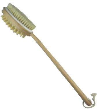 Sublime Beauty® Original Skin Brush. Improve Your Health Now! Dry Body Brushing is an Ancient Secret to Better Health, Circulation & Glowing Skin. Long Wooden Handle, Quality Natural Bristles. Free Booklet By Email After Purchase! Sublime Beauty® is the Only Authorized Seller of this Wonderful Brush. Full Guarantee! Detox & Improve Skin Quality and Boost General Health Today!
