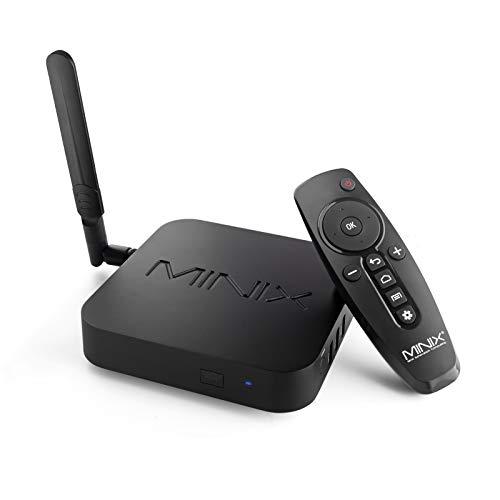 MINIX Android 9.0 Pie Media Hub 4K Ultra HD HDR10+4GB DDR4/32GB eMMC HDMI 4K @ 60Hz 3 x USB 3.0 USB-C [data only] GLAN…