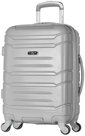 Olympia Denmark 21 Carry-on Spinner, SILVER, 21 inch