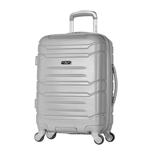 "Olympia Denmark 21"" Carry-on Spinner, SILVER, 21 inch"