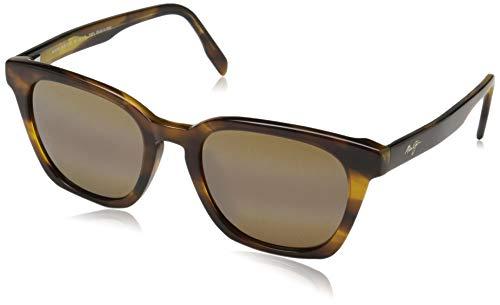 Maui Jim Shave Ice H533-10 | Polarized Tortoise Classic Frame Sunglasses, HCL Bronze Lenses, with Patented PolarizedPlus2 Lens Technology