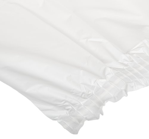 Creative Converting 01-0047C 14-Foot Length by 29-Inch Width White Color Plastic Table Skirt (Case of 6)