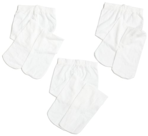 Jefferies Socks, LLC Baby-girls Newborn Microfiber Tight 3 Pack