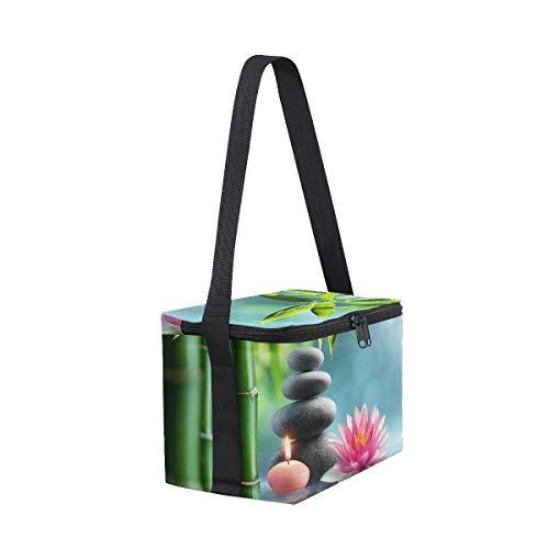 pour pierre Boîte à nique Alternative de lunch Thérapie déjeuner à massage Naturel Cooler pique Sac avec Bandoulière vwCqRABC
