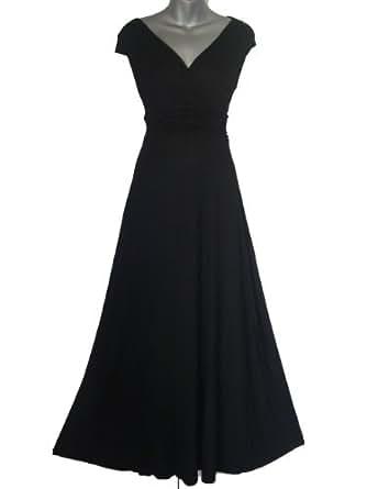 Look For The Stars Women's Long Maxi Dress Black 6