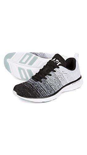 Apl: Atletisk Fremdriftssystemer Labs Mænds Techloom Pro Sneakers Sort / Grå Meleret / Hvid M39peSzy