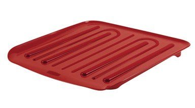 Rubbermaid 1180MARED RED Antimicrobial Drain Board - Red - C