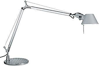 Artemide Tolomeo Grigio Alluminio Lampada Da Tavolo Base 23 Cm A001000 Amazon It Illuminazione