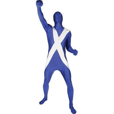 Costumes Scotland - Morphsuits Men's Scotland Original Flag Fancy